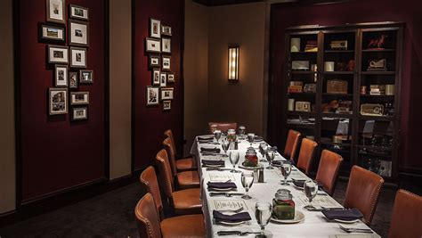 party time 18 outstanding new private dining spaces in private dining at bobs steak chop house omni nashville
