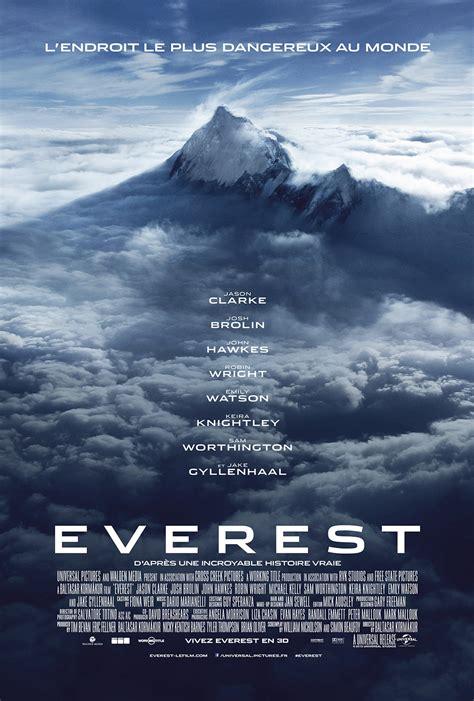 film everest bande annonce affiche du film everest affiche 3 sur 3 allocin 233