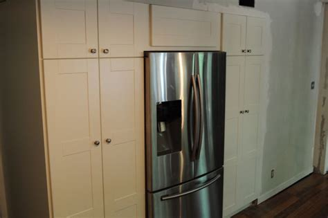 ikea built in fridge cabinet ikea cabinets built in pantry and refrigerator the cul