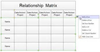 service matrix template decision matrix excel template