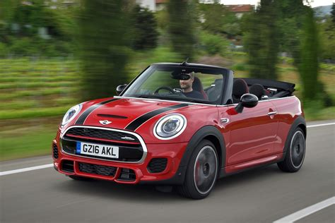 mini john cooper works convertible 2016 review auto express