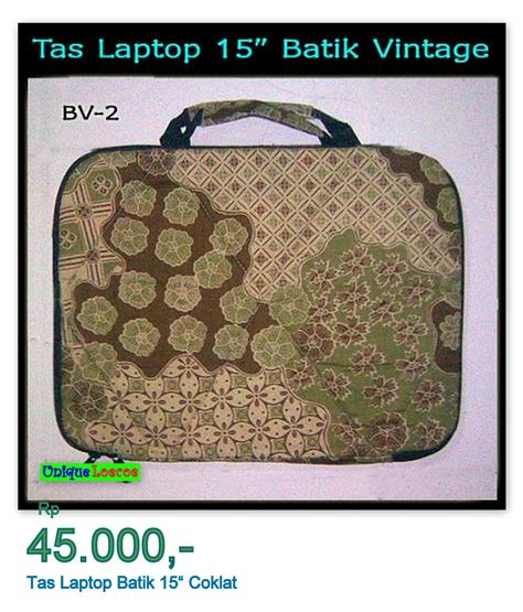 Tas Batik Vintage tas laptop batik 15 quot unique loecoe