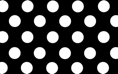 Monochrome Polka Black And White Polka Dot Wallpapers 38