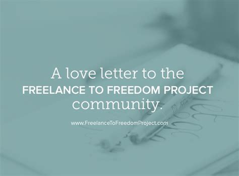 freelance to freedom the roadmap for creating a side business to achieve financial time and freedom books letter to the ftf community new featured writers