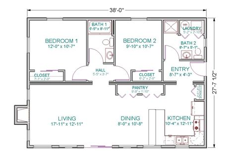 kitchen and dining room floor plans home deco plans