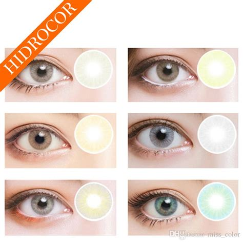 color eye contacts cheap selling hidrocor contact lenses big eye color contacts