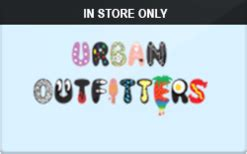Urban Outfitters Check Gift Card Balance - urban outfitters in store only gift card check your balance online raise com