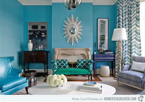 Turquoise And Black Living Room - 15 scrumptious turquoise living room ideas living room