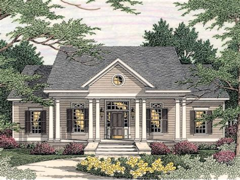 House Plans Colonial by Small Southern Colonial House Plans New Colonial