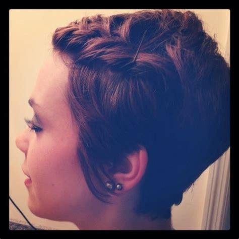 braided pixie cut braid on pixie cut hairstyles i love pinterest hair