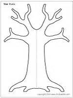 coloring page tree trunk free family tree craft template pinned by pediastaff