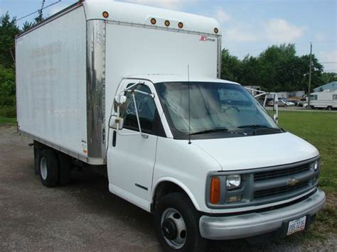 chevrolet 3500 box truck purchase used 1998 chevrolet 3500 box truck in lima ohio