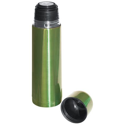 Diskon Termos 0 5 Liter metalowy termos reklamowy 0 5 l jasny zielony