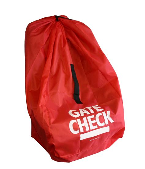 car seat gate check jl childress gate check bag for car seats