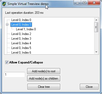delphi virtual treeview tutorial delphi how to hide expand collapse button in virtual