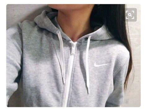 Jaket Nike Logo Black Grey jacket nike nike sweater nike jacket grey hoodie