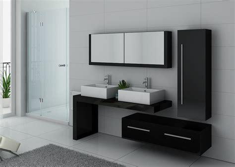 Exceptionnel Salle De Bain Aubergine Et Gris #5: 7378-meuble-de-salle-de-bain-double-vasque-noir.jpg