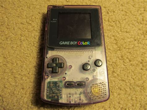 atomic purple gameboy color cc10gaming all generation gaming boy collection
