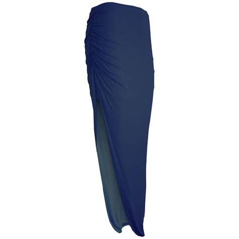 womens waist elastic cut out assymetric