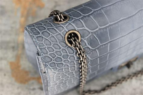 Chanel Crocodile 255 chanel 13p blue crocodile 255 reissue jumbo flap bag