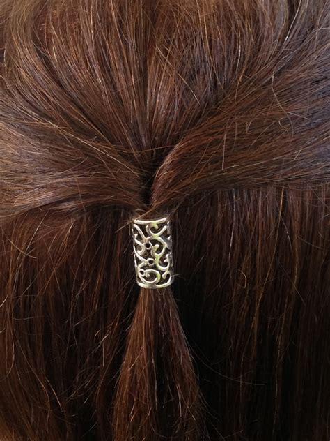 bead hair hair bead kit bead elvish hair bead leaves