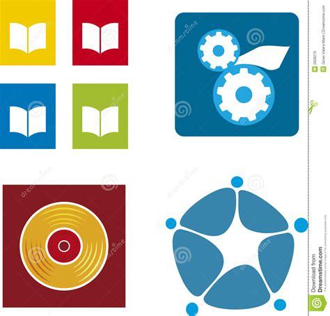 logo book pdf free media logos vector royalty free stock images image