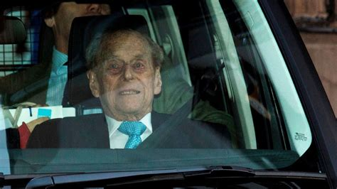prince philip leaves hospital  christmas  queen