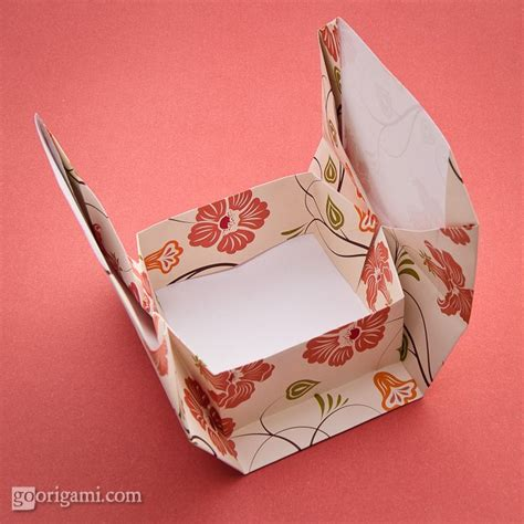 Origami Boxes And Containers - boxinabox origami box by akiko yamanashi go origami