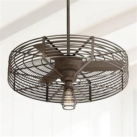 32 ceiling fan with light best 25 caged ceiling fan ideas on pinterest industrial