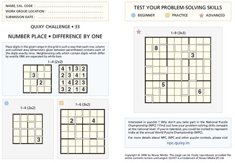 printable sudoku with instructions consecutive sudoku qc 33 fun with puzzles
