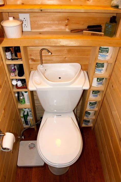 the small house catalog love the toilet with sink attached