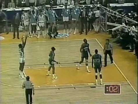 Georgetown Mba Vs Unc Mba by 1982 Ncaa Chionship Unc Vs Georgetown