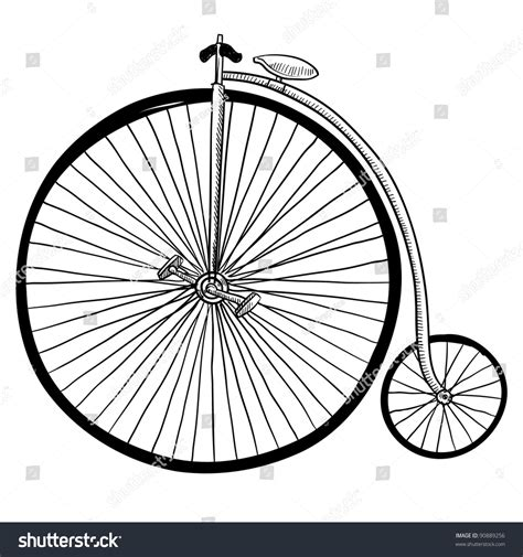 doodlebug tire size doodle style antique bicycle with large front tire in