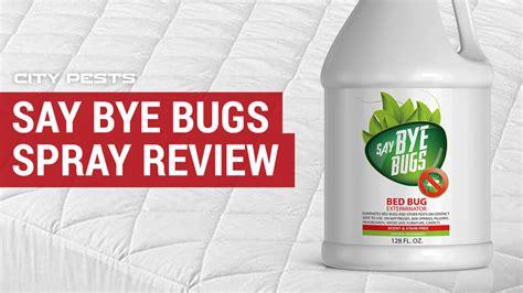 bye bugs reviews water based bed bug spray   buy