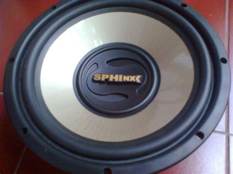audio kreatif eksperimen box subwoofer  sphinx sx