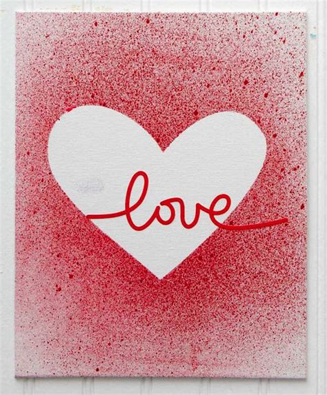 create your own valentines day card make your own splatter paint valentine s day cards diy