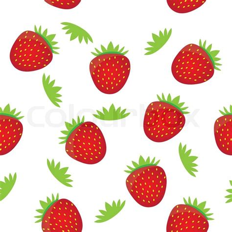 fruit pattern hd seamless background pattern template colorful strawberry