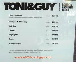 haircut price list toni and guy haircut prices harvardsol com