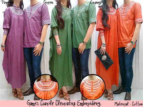 Gamis Cleopatra Embroidery Aryanishop