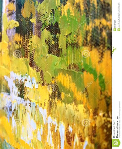 acrylic painting details artwork brush strokes detail stock photo image 50764261