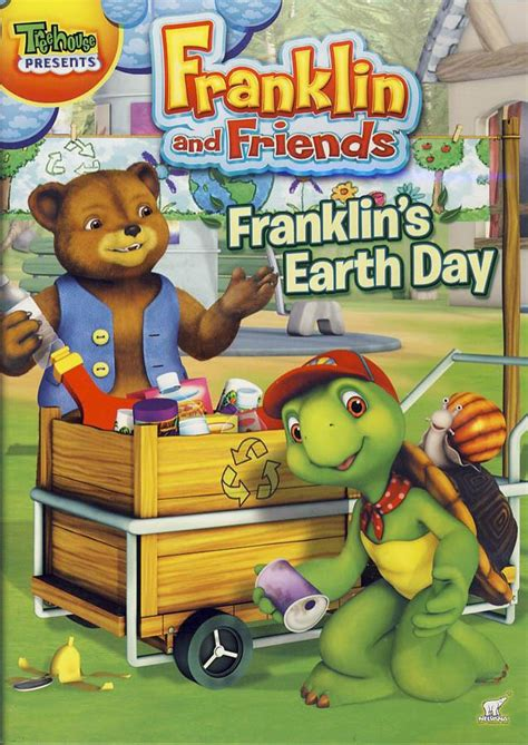 franklin s day franklin and friends franklin s earth day on dvd