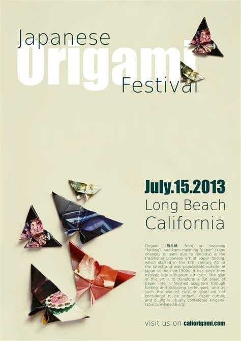 Origami Poster - japanese origami festival poster by juju juju 1 on deviantart