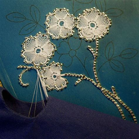 Handmade Lace - duchess bobbin lace by appointment only