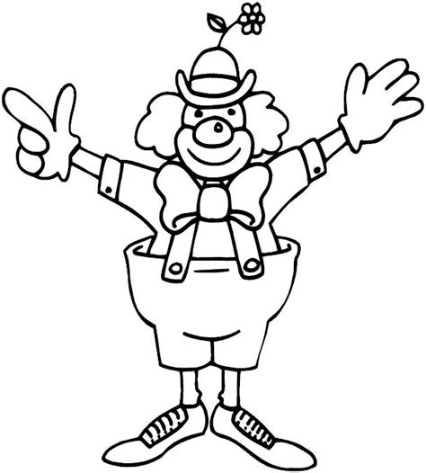 clown coloring pages pdf 17 images about circus carnival carousel coloring on