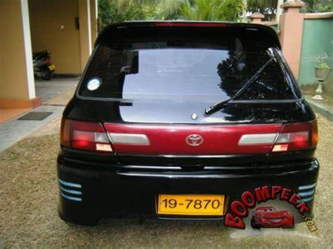 Toyota Glanza For Sale In Sri Lanka Toyota Starlet Ep82 For Sale In Sri Lanka
