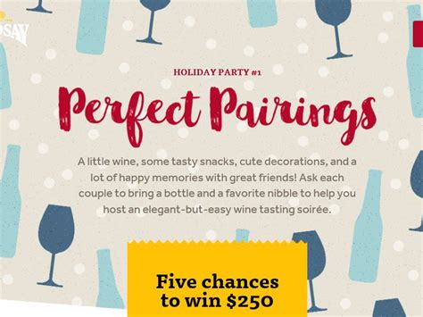 Holiday Entertaining Sweepstakes - the lindsay quot holiday entertaining quot sweepstakes