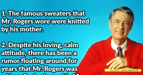 does mr rogers have tattoos 40 neighborly facts about mr rogers page 6 of 6