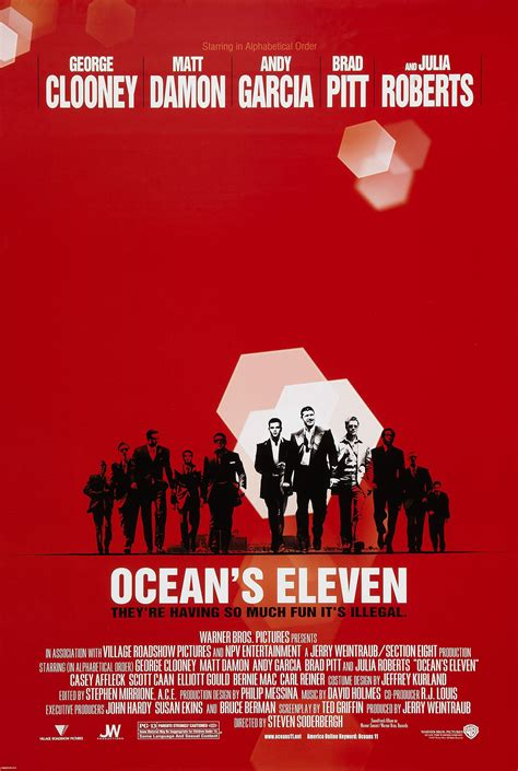 Ocean's Eleven (2001) – Did You See That One? K 11 Poster