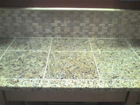 Granite Countertops Bradenton Fl by Ceramictec Granite Tile Counter With A Travertine