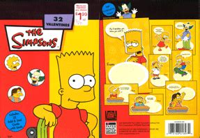 simpsons valentines cards s simpsons style simpsons